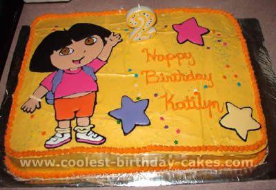 Coolest Dora the Explorer Cake Ideas and Dora Cake Inspiration