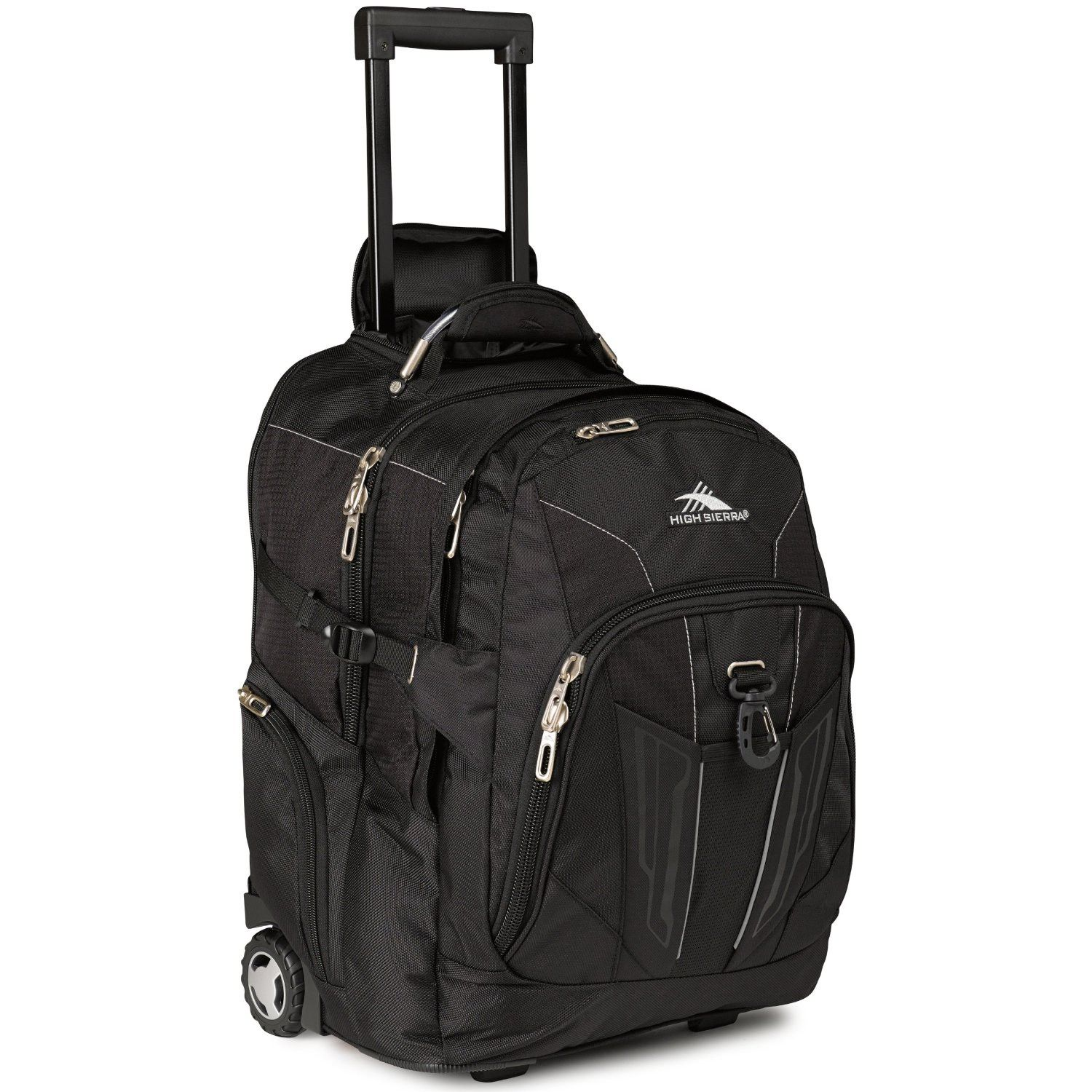 High Sierra XBT Wheeled Daypack Black