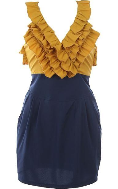 Blueberry Custard Dress, GHS pride :)
