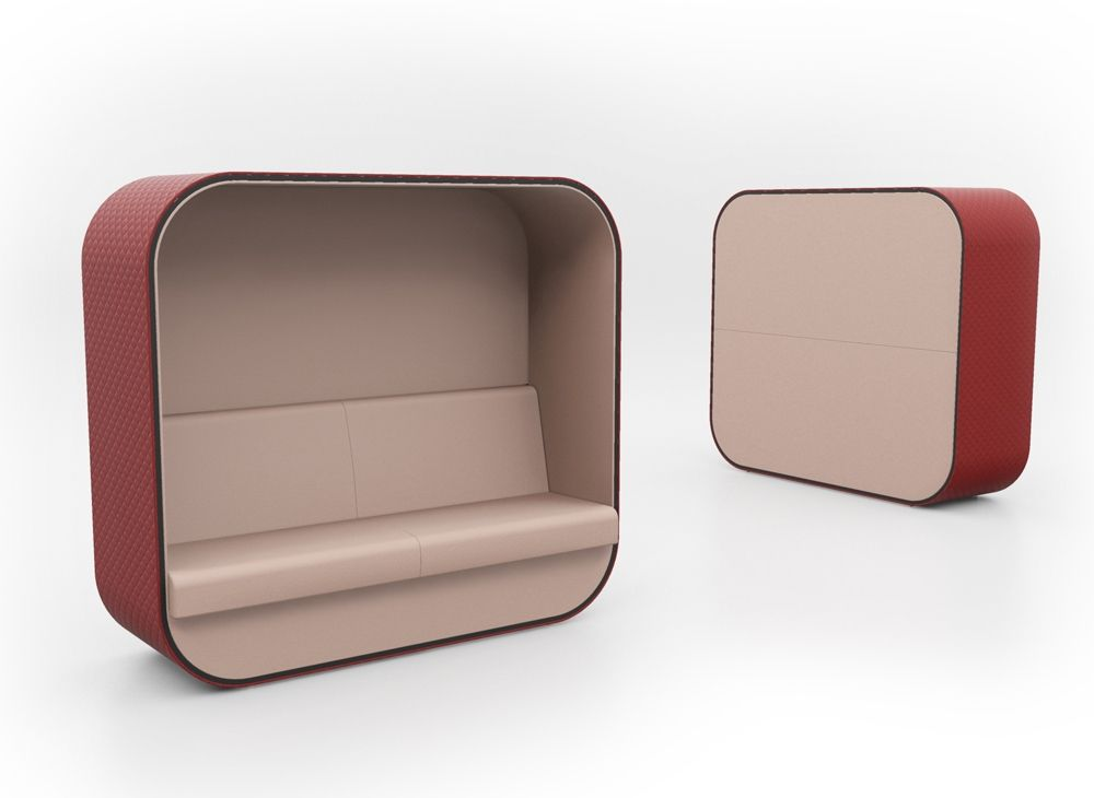 Cocoon Breakout Upholstery Office Seating Designer
