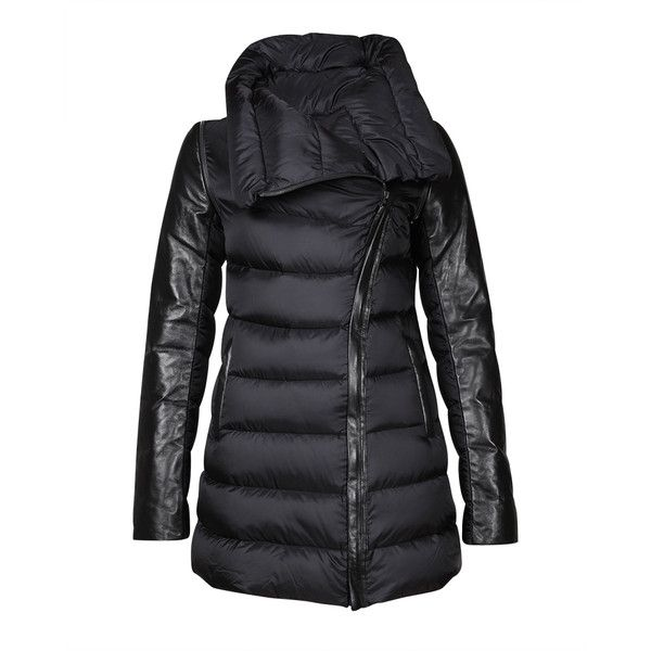 Mackage Rum Jacket in Black ($605) found on Polyvore
