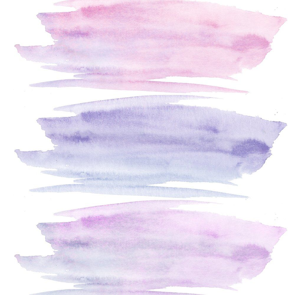 Purple Paint Stroke Clipart Set Purple Paint Clip Art Paint