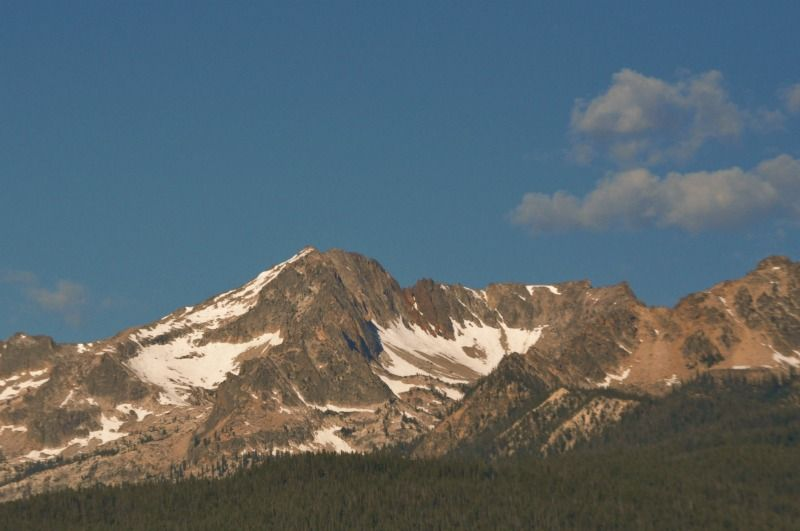 Shot this in the Sawtooths