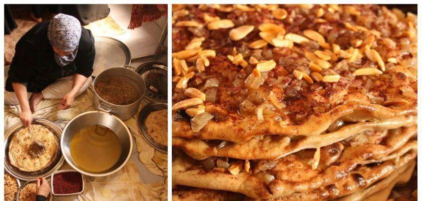 Making musakhan mediterranean recipes food eastern cuisine