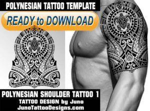 polynesian tattoo shoulder tattoo arm tattoo tattoo template