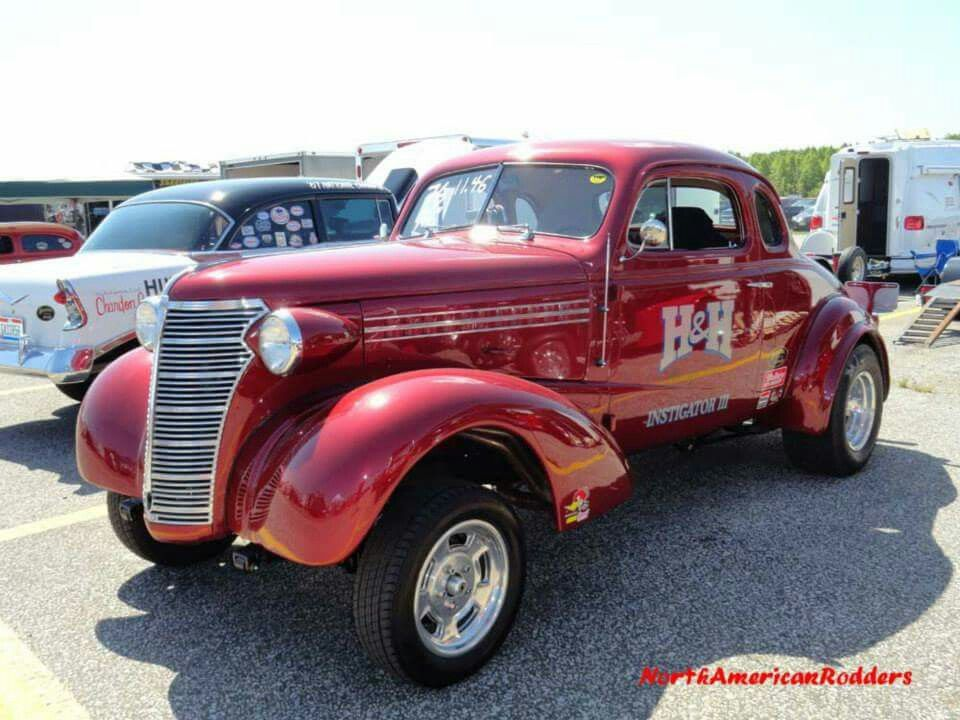 H H 38 Chevy Gasser Chevy Muscle Cars Old Race Cars Drag Cars