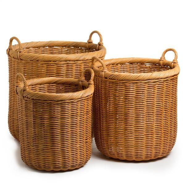 Round Wicker Storage Basket Wicker Baskets Storage Storage Baskets Wicker #storage #baskets #for #living #room