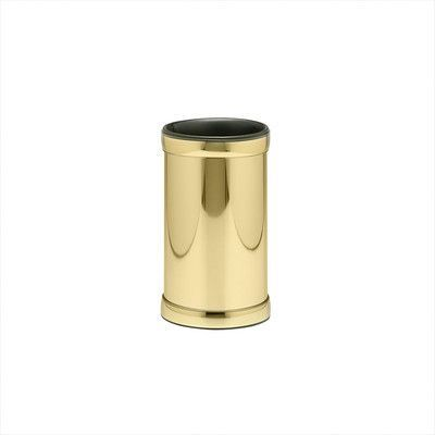Kraftware Americano Wine Chiller with Band in Brass