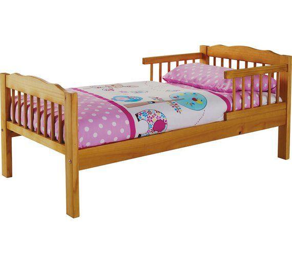 Buy HOME Antique Pine Toddler Bed Frame