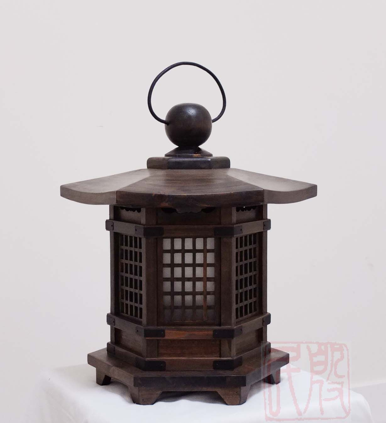 Antique Wood Japanese Lanterns Google Search Wooden Lamp In 2019