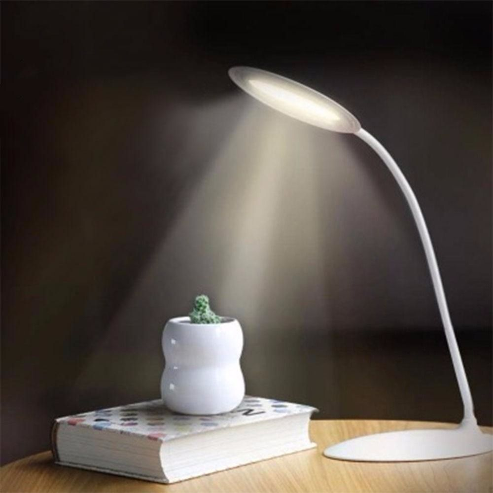 Rechargeable Touch Sensor Switch Led Night Light Adjustable Flexible Eye Protection Reading Book Table Desk Light Lamp Li Small Light Fixtures Night Lamps Lamp