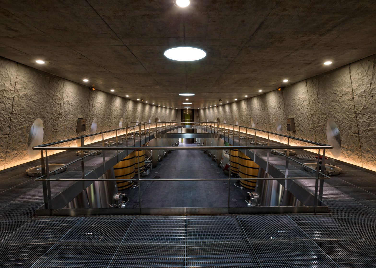 Philippe Starck And Luc Arsene Henry Build Steel Wine Cellar For