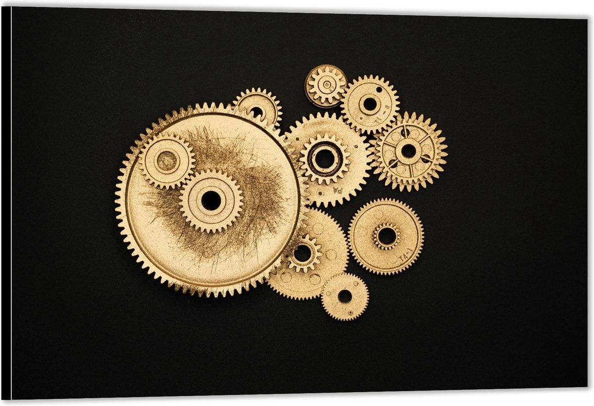 Dibond Machine Aandrijf 90x60 Foto Op Aluminium Wanddecoratie Van Metaal In 2021 Foto Metaal Prints