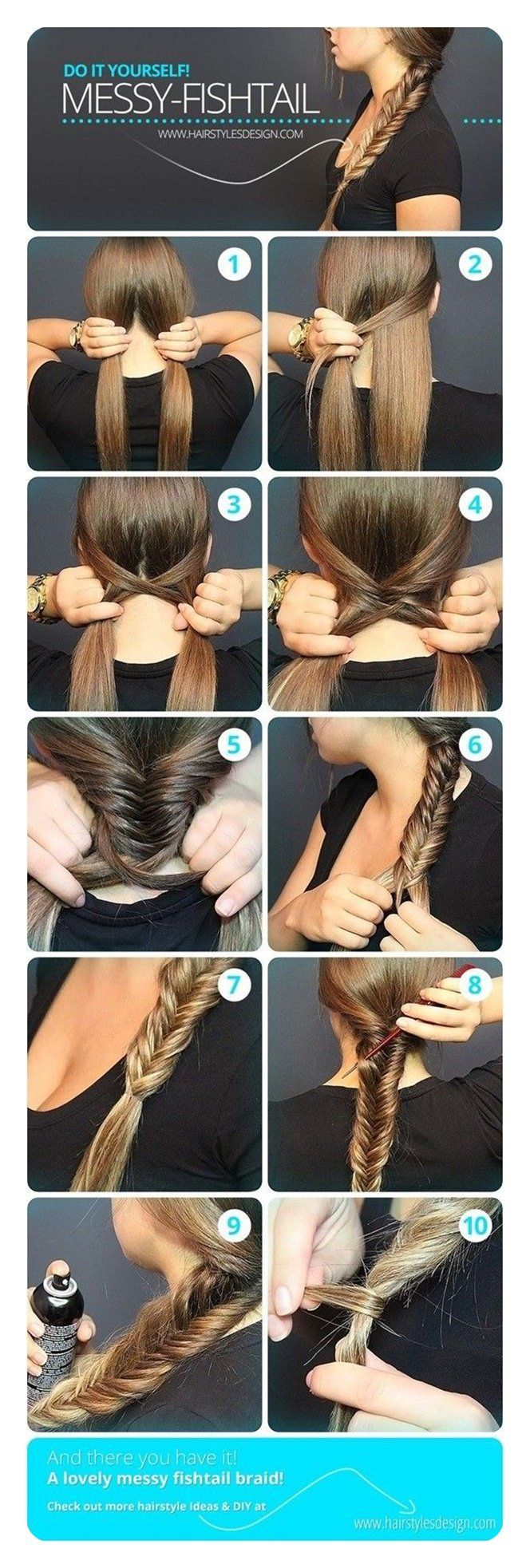 11 Unique Fishtail Braid Hairstyles To Inspire You   - braids - #braid #Braids #Fishtail #Hairstyles #Inspire #Unique # fishtail Braids diy