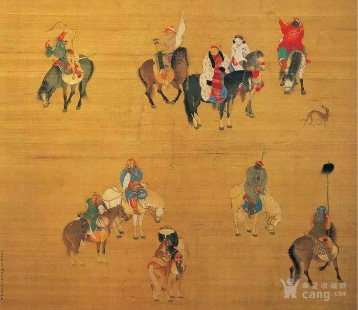Юань Лю Гуань Тао Картина Хубилай охоты на карте _ Юань Лю ...