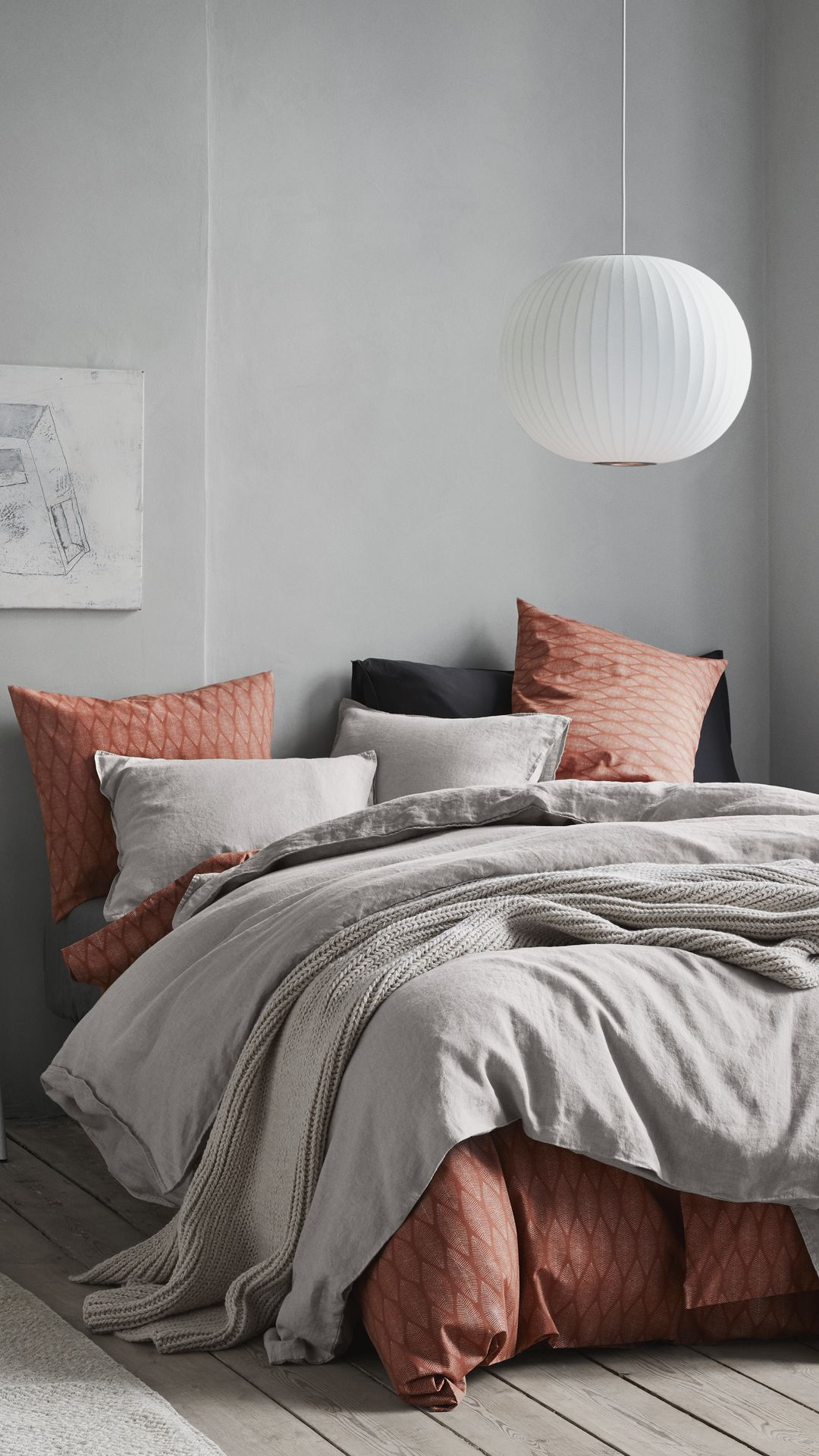 Update with fresh bed linen in an array of new colours and subtle patterns.