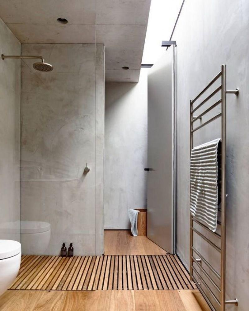 zo creà er je een houtlook in de badkamer mrwoon interior