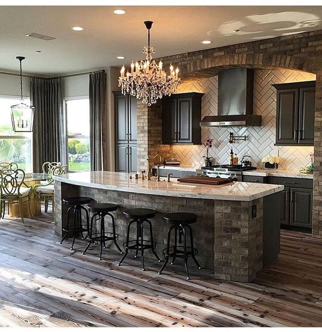 34 Inspiring The Best Kitchen Design Ideas En 2020 Cocinas De Casa Cocinas Remodelacion De Cocinas