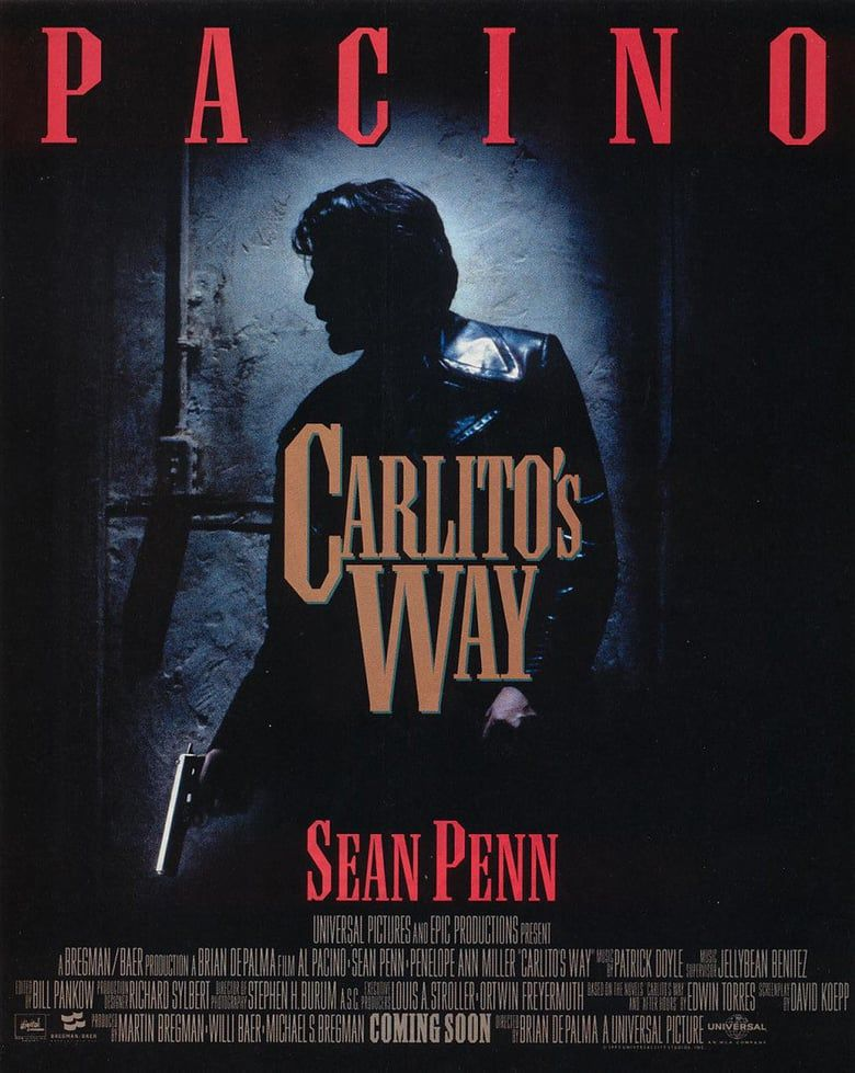 Carlito S Way Full Movie Online No Sign Up Carlito S Way Celebrity Wall Art Sean Penn