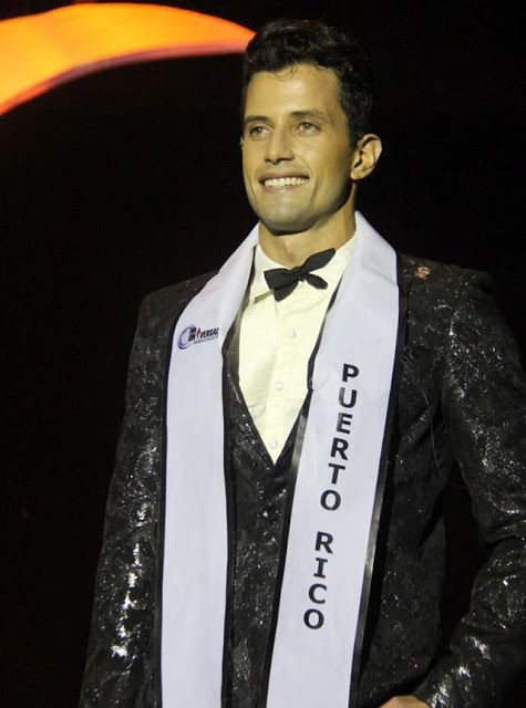 Pageant TV Channel: Puerto Rico's Daniel Ortiz wins first