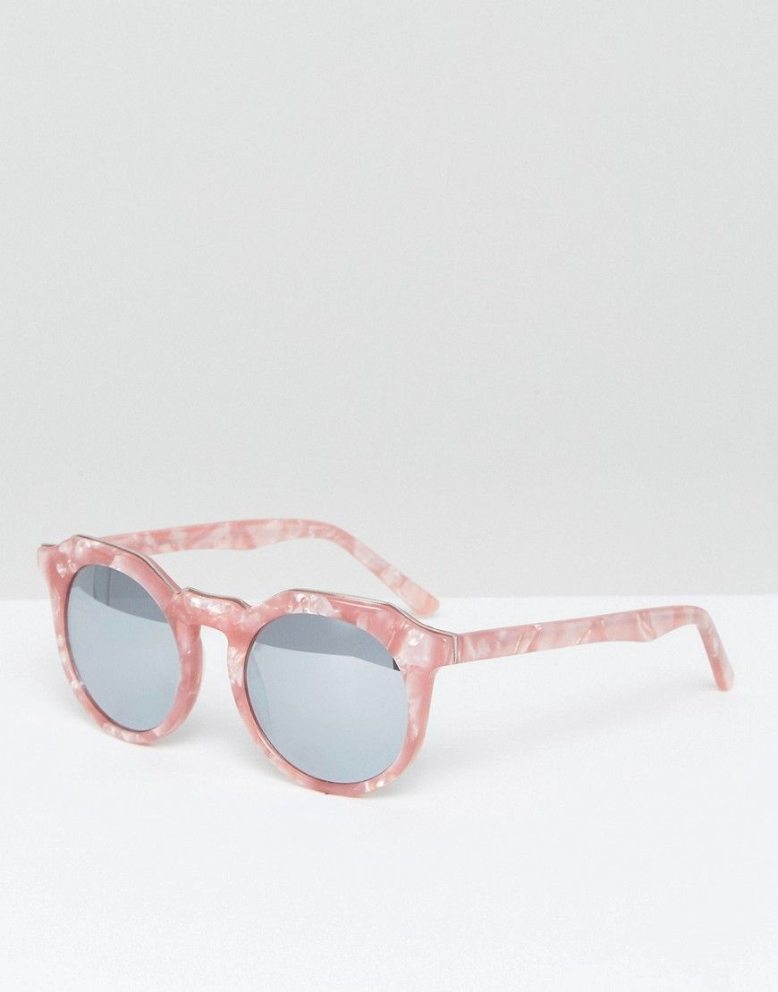 5ec6c493d Pala Round Sunglasses in Pink Tortoiseshell | Products