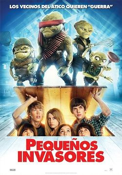 Pequenos Invasores Online Latino 2009 Peliculas Audio Latino Online Free Movies Online Kids Movies Family Movies