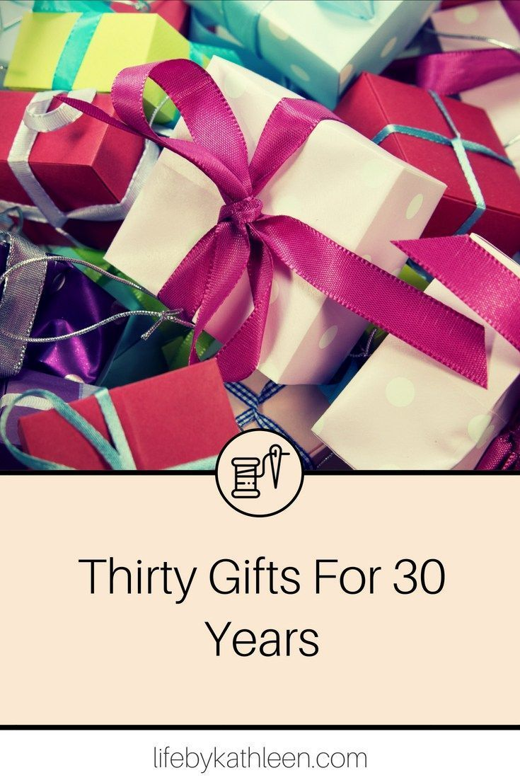 30 gifts for 30 years life by kathleen diy gifts for