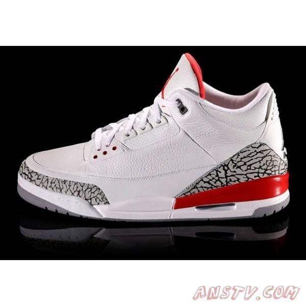 Air Jordan Homme Nike Air Jordan 3 Retro Hommes Blanc / Noir Moka ...