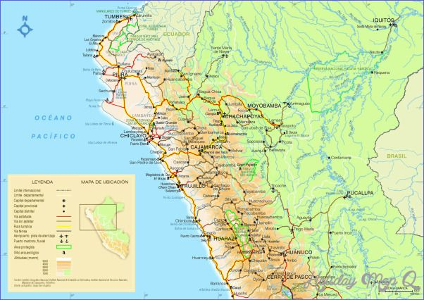 Peru map tourist attractions httpholidaymapqperu map peru map tourist attractions httpholidaymapqperu map sciox Choice Image
