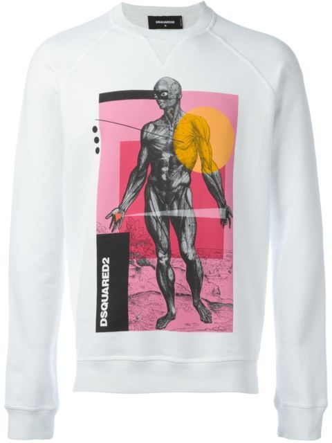 DSQUARED2 'Sexy Muscle Fit' Sweatshirt. #dsquared2 #cloth #sweatshirt