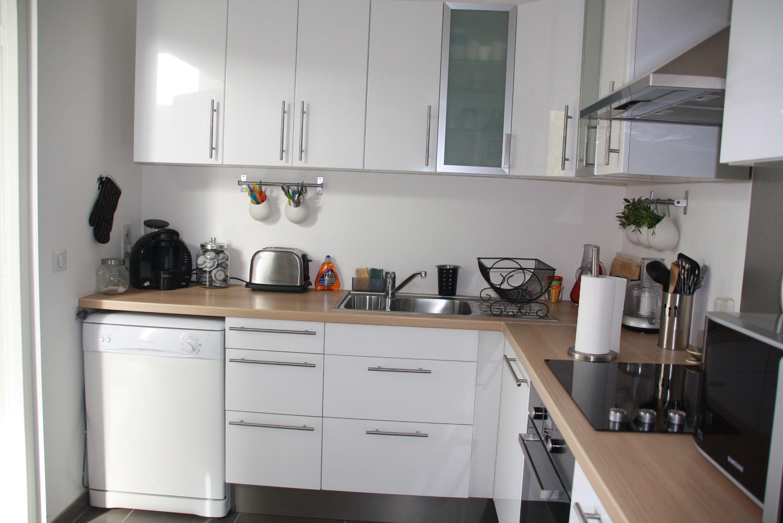 Plan de travail bois  Kitchen inspirations, Kitchen models