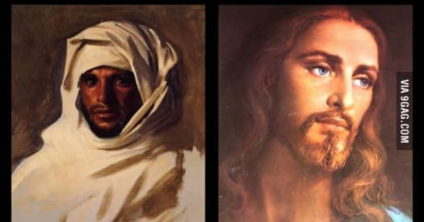 The Iconic photos of Jesus are incorrect | Middle, Crafts and Photos