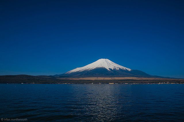 Mount Fuji by wakame+udon, via Flickr