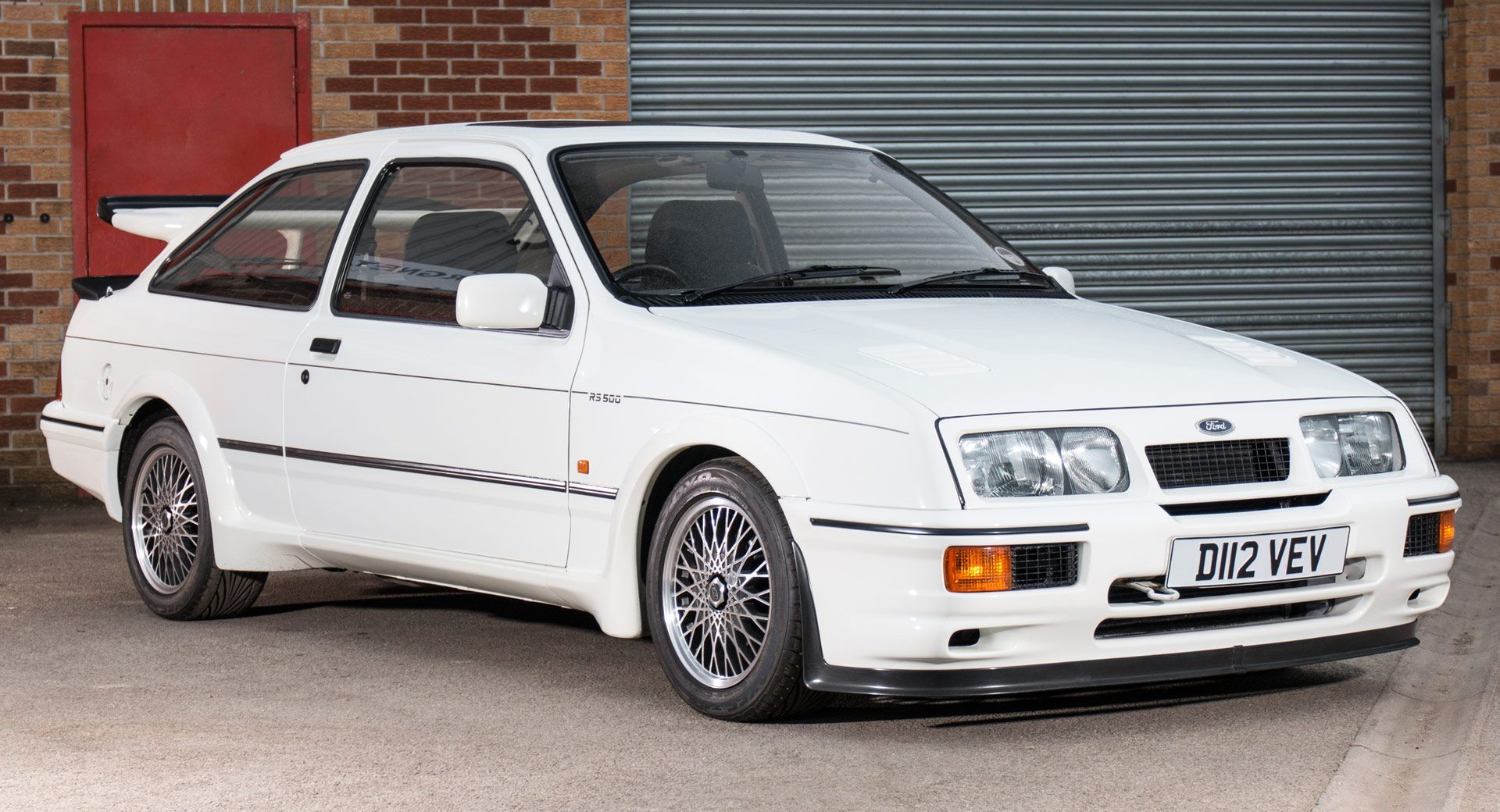 The Very First Ford Sierra Cosworth Rs500 Could Be The Vintage Hot