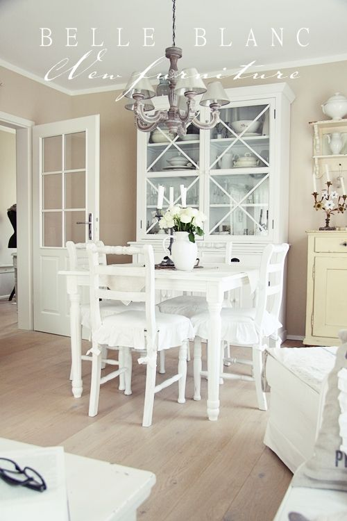 Comedor blanco | Home sweet home ideas | Pinterest | Comedores ...