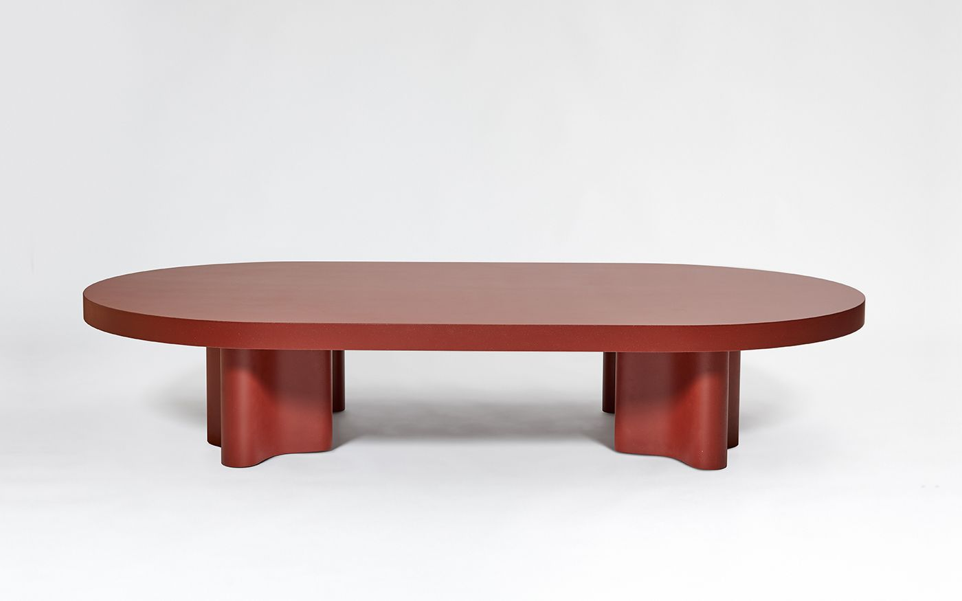 Galerie Kreo Galerie Kreo Azo Ovale Coffee Table 2017 Francois Bauchet Producer Galerie Kre Tiled Coffee Table Coffee Table White Round Coffee Table [ 875 x 1400 Pixel ]