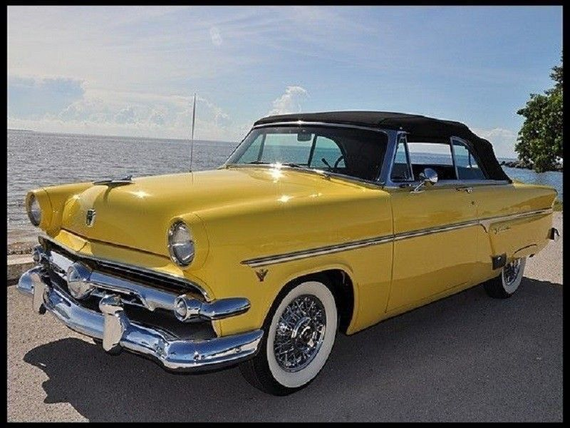Ford Crestline Ford Convertible Old Classic Cars 1954 Ford