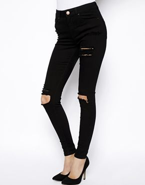 Fetzen-Jeans