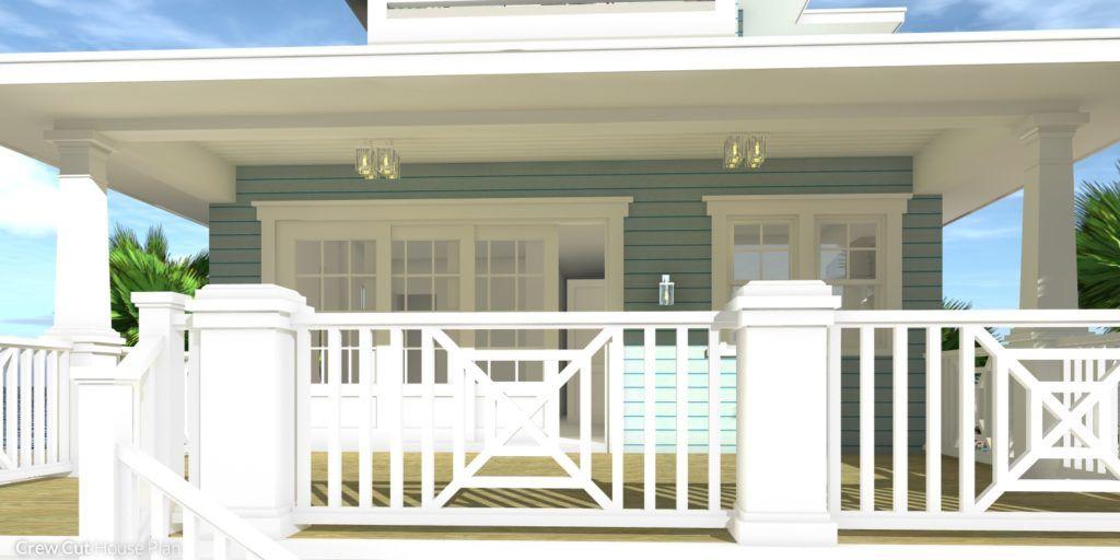 small 4 bedroom beach house plan in 2020  beach house