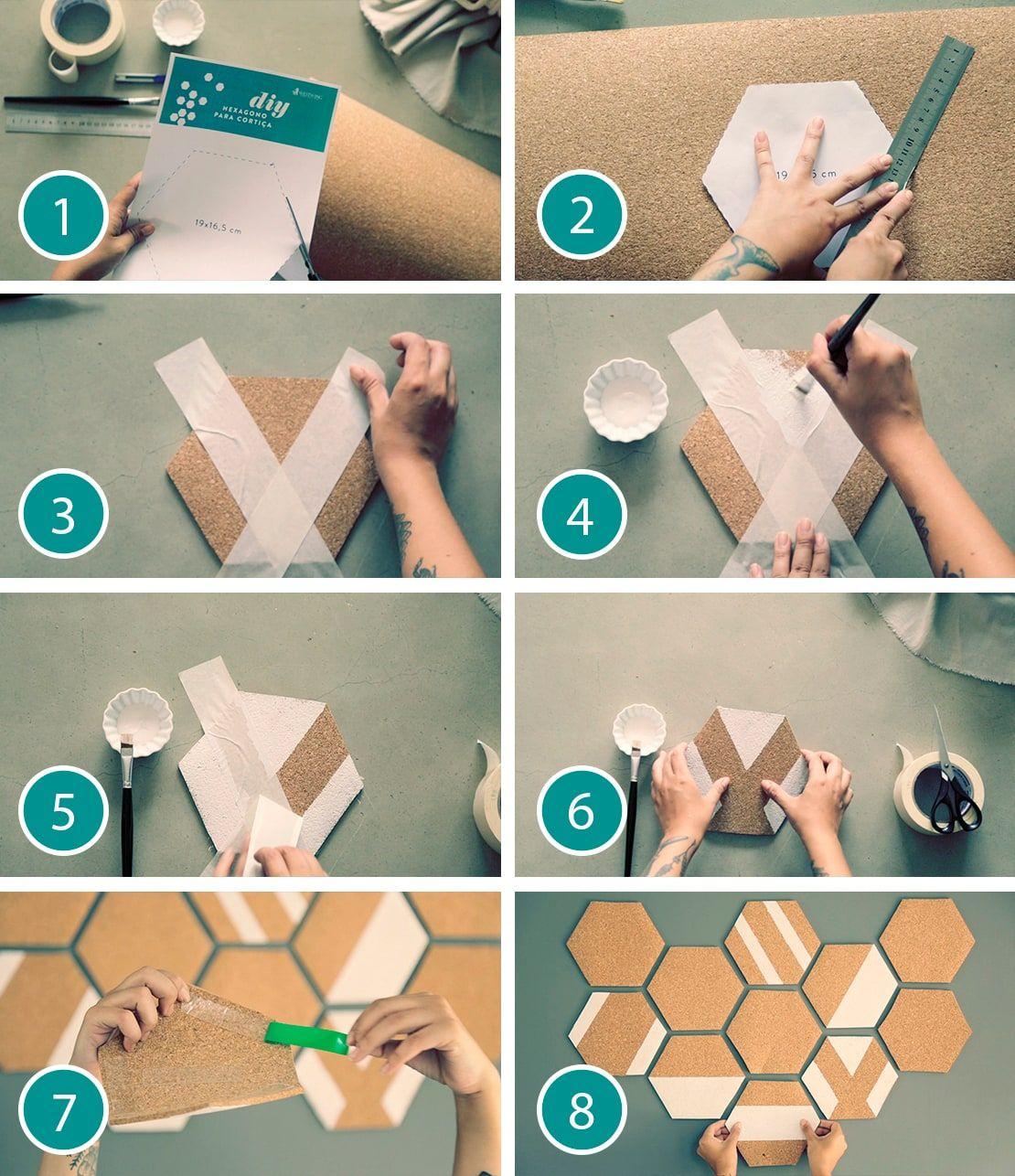 Eine DIY Pinnwand für Ihre Reminder und Bilder | Westwing Magazin