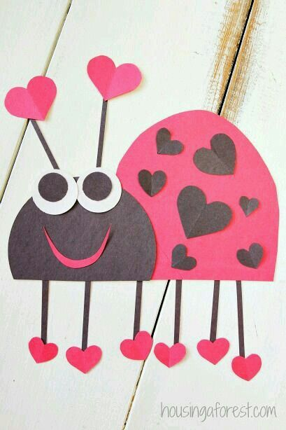 Valentine S Day Craft Idea Valentine S Day Pinterest Valentine