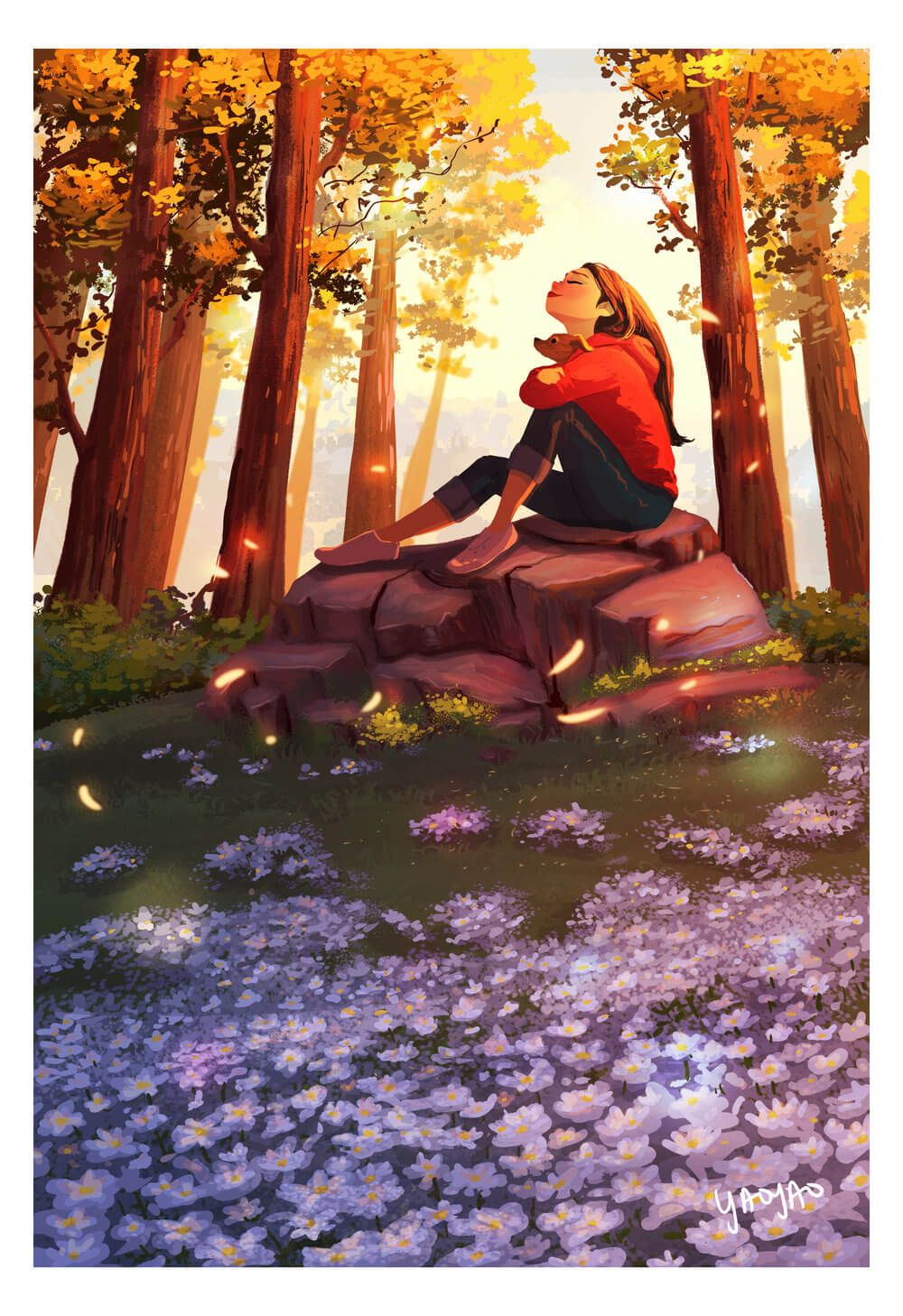 This Went Viral Illustrations That Capture The Beauty Of Living Alone Nature Illustration Girly Art Cute Art