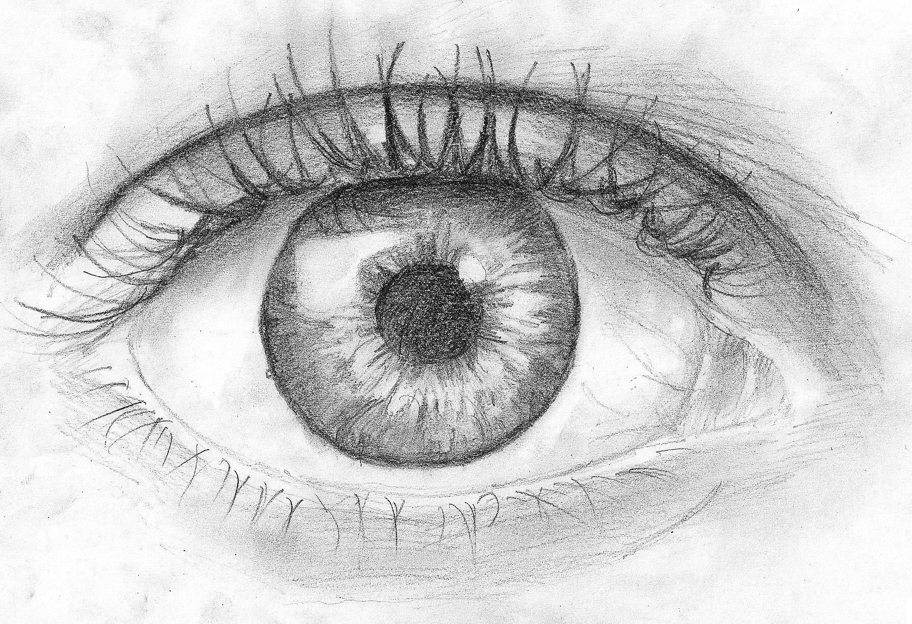 Глаза человека рисунки картинки