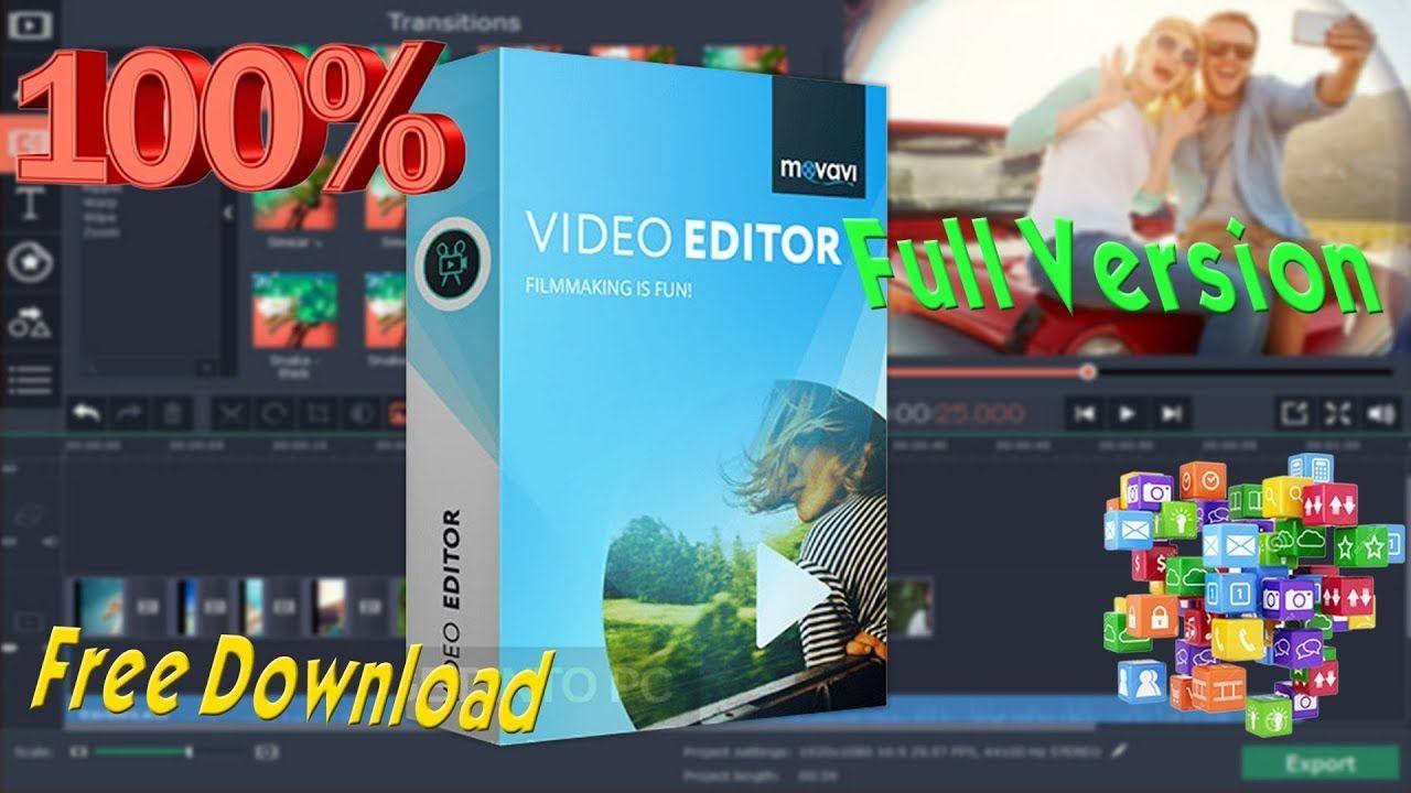 movavi video editor 14 full version free download