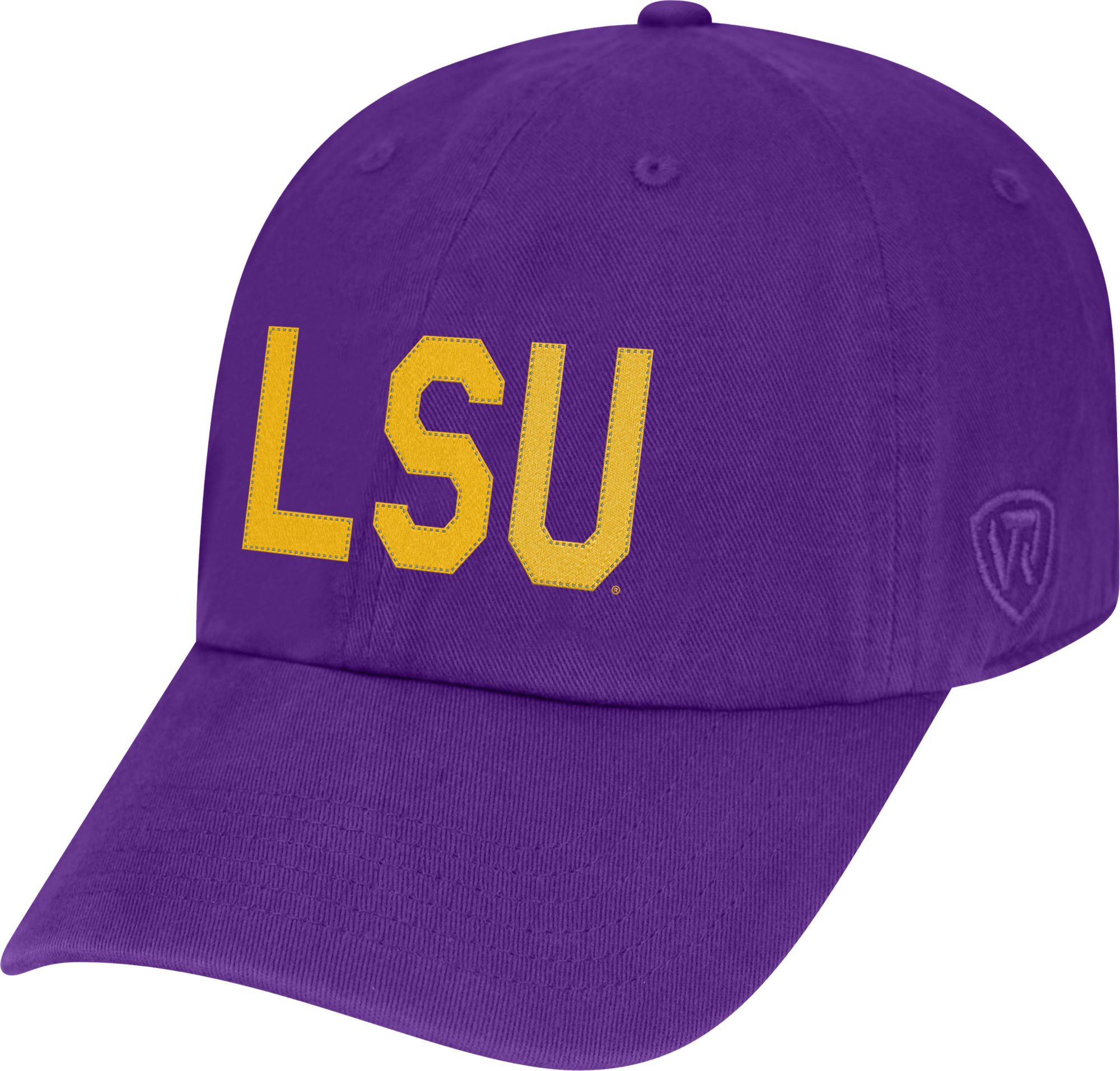 1bf9f3fc5e0898 ... good top of the world mens lsu tigers purple district adjustable hat  2dda7 b7ef9