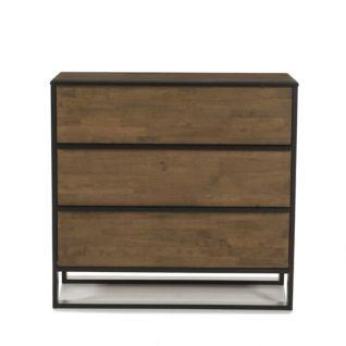 Alinea Commode 3 Tiroirs Noyer Dore Et Wenge 23367357 Ph 01 Mobilier De Salon Coffre En Bois Ikea