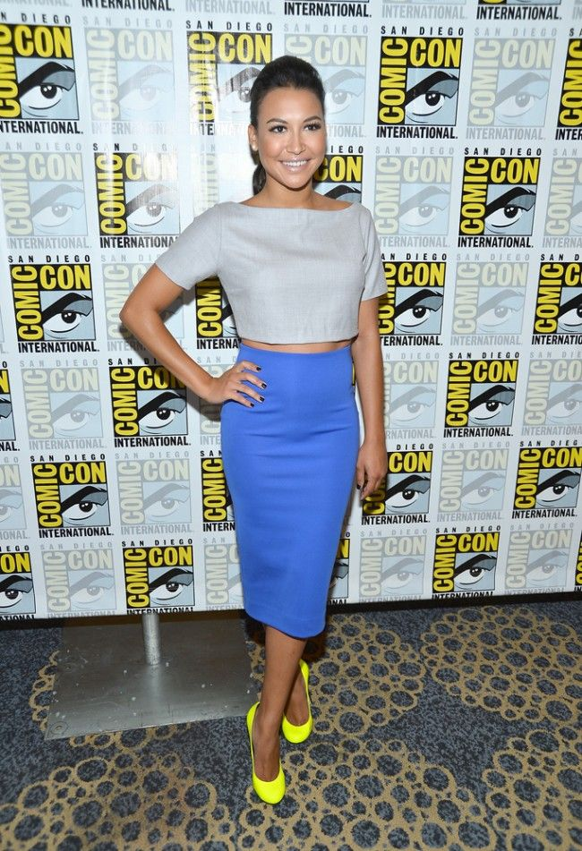Naya Rivera why you look so beautiful all the time?! Marry me? Now?