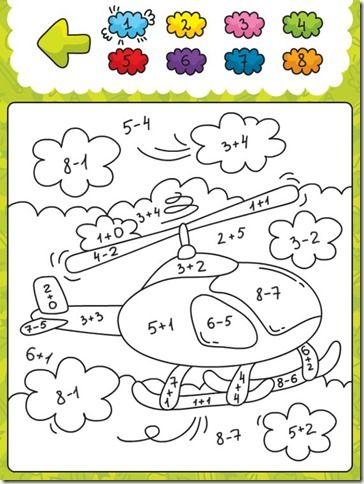 Blog De Atividades Fundamental 1 E 2 Calcule E Pinte Adicao E
