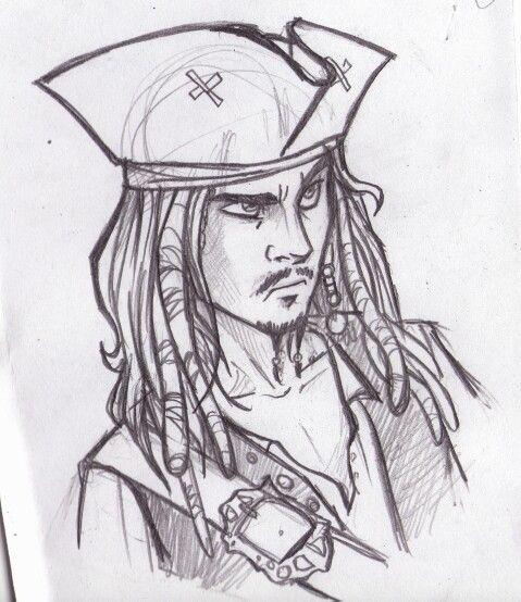 Capitan Jack Sparrow My Sketches In 2019 Disney Drawings