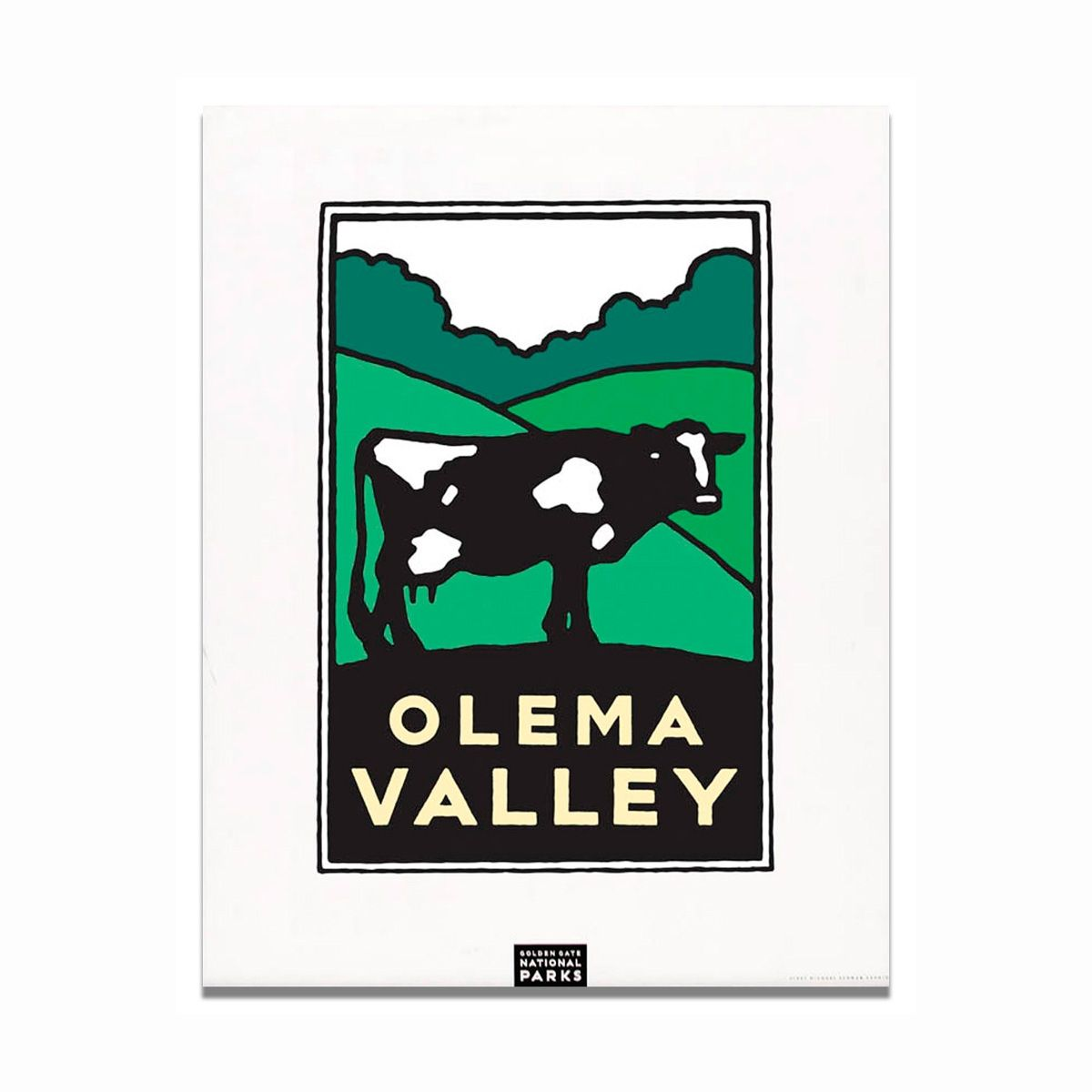 Unframed Poster Olema Valley National park posters